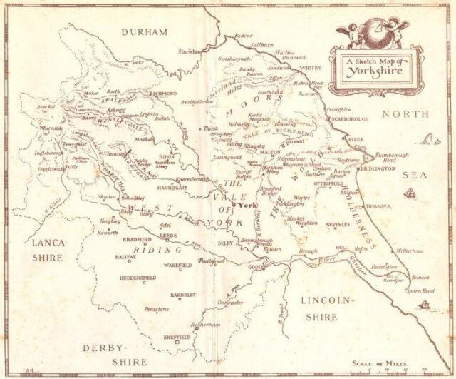 Old Ordnance Survey Map SW Montgomeryshire  Llanidloes /& Plan Y Fan 1908 S164
