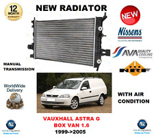 FOR OPEL ASTRA G BOX VAN 1.6 + AIR CON 1999-2005 NEW RADIATOR ** OE QUALITY **