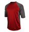 Details about  /New Majestic 3//4 Featherweight Tech Sleeve Shirt I756