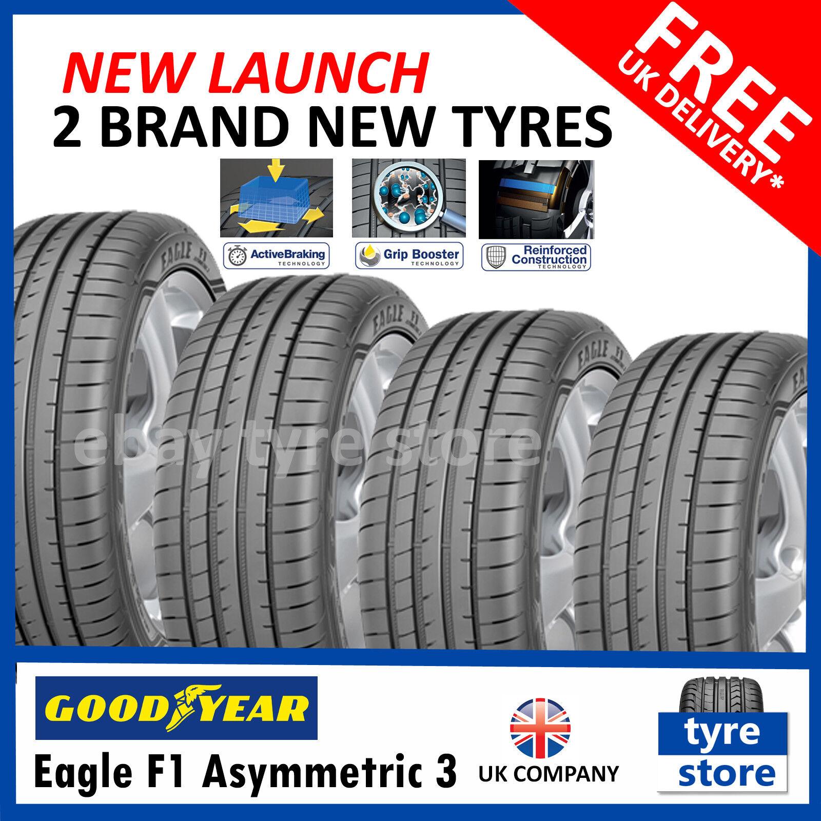 E//A//67dB Summer Tyre Goodyear Eagle F1 Asymmetric 3-205//40//R17 84W