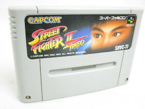 STREET-FIGHTER-II-2-TURBO-Super-Famicom-Nintendo-Free-Shipping-Hit-Japan-sfc