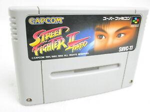 STREET-FIGHTER-II-2-TURBO-Super-Famicom-Nintendo-Free-Shipping-sfc