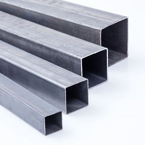 Quadratrohr-Stahlrohr-Hohlprofil-Stahl-Vierkantrohr-Rohr-Eisen-Stahl-Metall