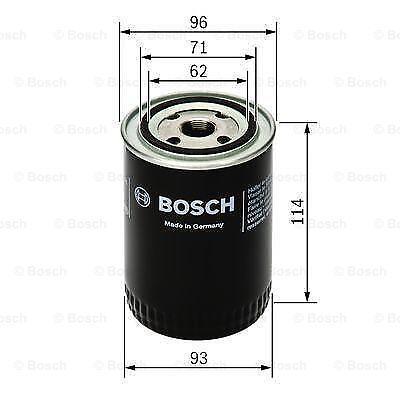 Mk2 Bosch Moteur Filtre à Huile Convient à LAND ROVER FREELANDER 2.2 TD4 BOSCH Stockist