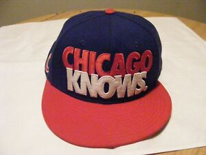 8d432abf7 Details about Nike True Snapback Hat Baseball Cap Rare Retro Air vintage  Chicago Knows