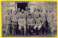 cpa CARTE PHOTO 289e Régiment TSF Militaires Soldats Uniformes