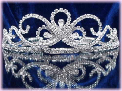 """DIADEME cristal /""""Butterfly/"""" Bijoux accessoire de Mariage bijou pour mariée Miss"""