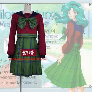 Sailor Moon Kaiou Michiru Sailor Neptune Third Version Halloween Cosplay Costume