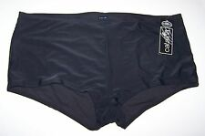 New Womens Catalina Swim Boyshort Bottom -  Black Swimwear - 3X 22W-24W