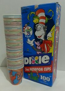 Image Is Loading Dr Seuss Dixie Cups 5oz Bathroom Cups Jim