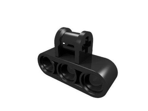 neu LEGO Technik Achs-Pin Verbinder dreifach schwarz 63869 10 x