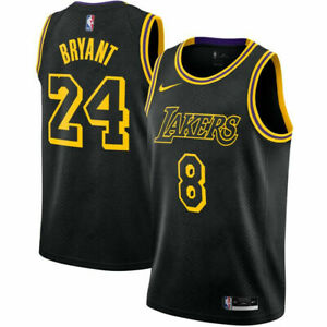 Nike Kobe Bryant BLACK MAMBA LAKERS City Youth Kids Boys Sizes S ...