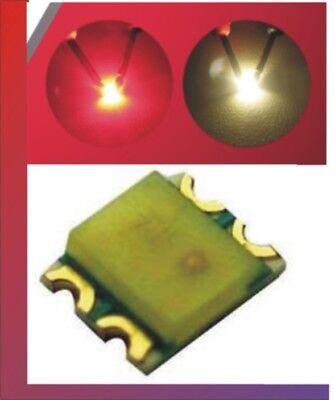 Consegna Veloce 10 X Smd 0605 Bicolore Rosso-bianco Caldo Zugbeleuchtung-mostra Il Titolo Originale A Tutti I Costi