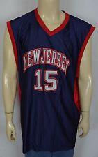 NEW NBA New Jersey Nets Vince Carter #15 Basketball Jersey Men's XL Old School