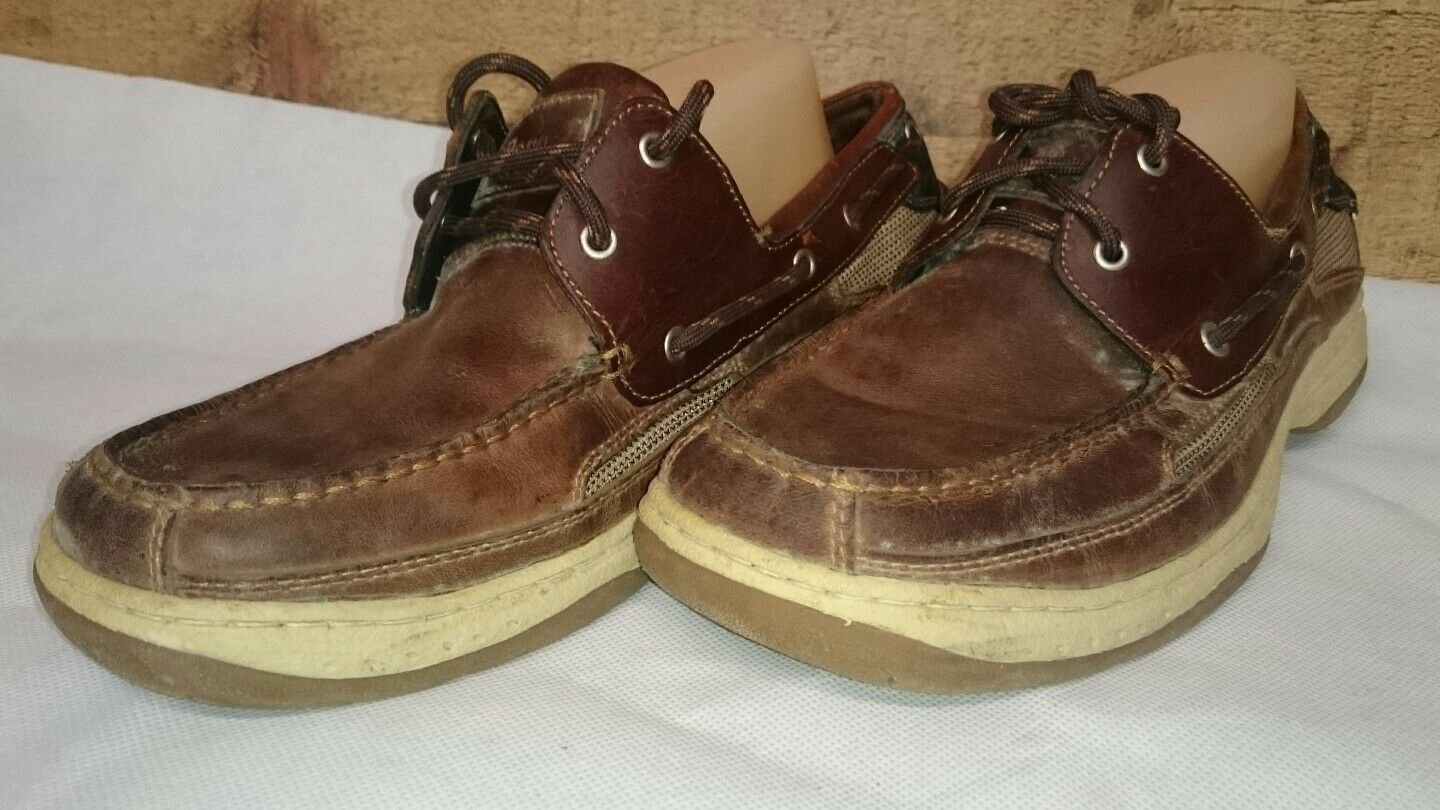 BASS - clipper leather and fabric  upper Men's Shoes Classic  fabric Size 10.5 c37ff8