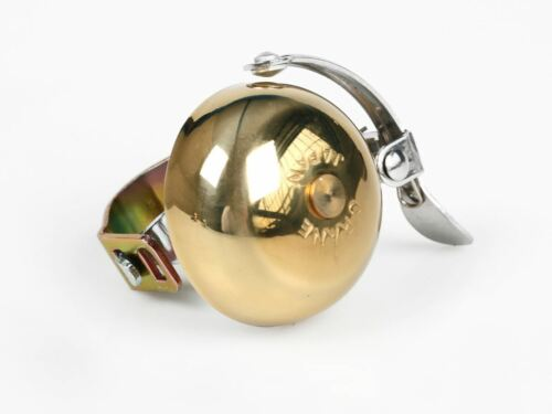 Crane Mini Suzu bicycle handlebar bell brass