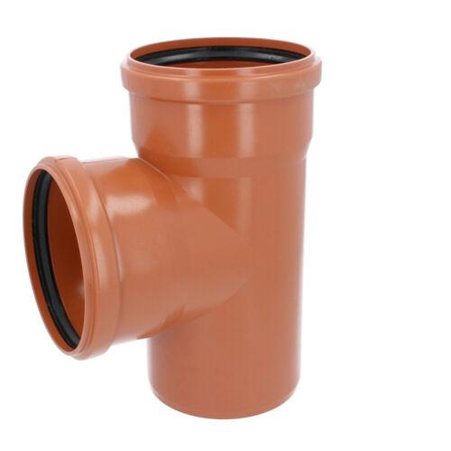 T-Stück Kunststoff HT-Rohr Installation Abwasser 160 mm Orange Varianten NEU