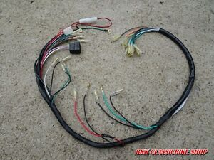 honda cb100 cl100 cb125s cl125s wire wiring harness new image is loading honda cb100 cl100 cb125s cl125s wire wiring harness
