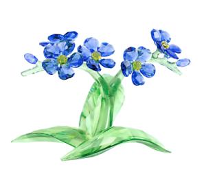 Swarovski Crystal Flower Figurine FORGET-ME-NOT -5374947 New