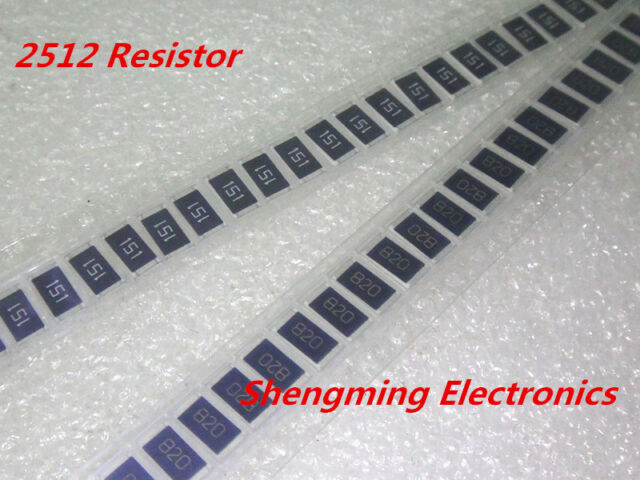 1W 13 Ohm 13R 130 5/% SMD resistors 6432 100PCS 2512