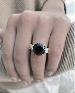 10-73-Carat-Natural-Spinel-Diamond-Engagement-Ring-18K-Gold