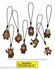 "Domo Danglers party favors -  set of 8 different figures approx 1"" tall"