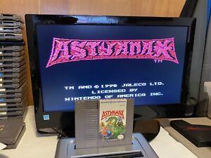 100-WORKING-NINTENDO-NES-RARE-RPG-Game-Cartridge-Manual-ASTYANAX