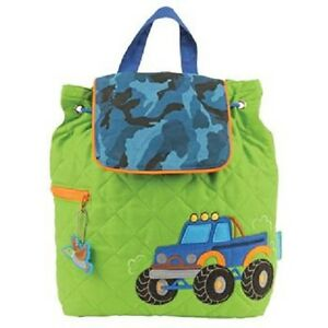 Stephen-Joseph-034-Truck-034-100-Cotton-Quilted-Backpack