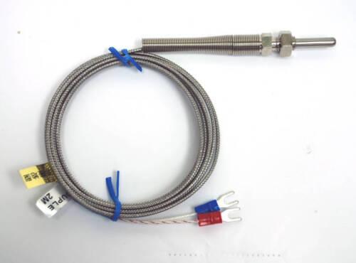 1pc Sensor Temperatura sonda termopar k l = 2 cm D = 5φ alambre = 1 M aislado Tornillo