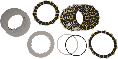 Barnett Performance Products Replacement Clutch Plate Set for Scorpion Clutch 306-32-40143