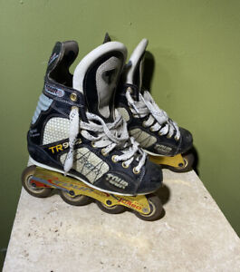 Tour-TR902-inline-hockey-skates-rollerblades-senior-Labeda-YOUTH-SKATE-SIZE-4