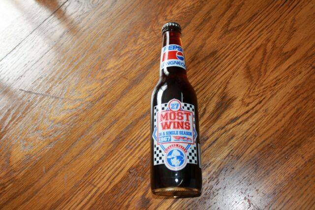Richard Petty LongNeck Pepsi Bottle,Most Wins In A Season, 27 . 2 VQ 42  series