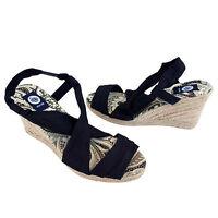 Damen Trend Wedges Plateau Pumps Keilabsatz Sandalen Schuhe Gr 37 37 38 39 40 41