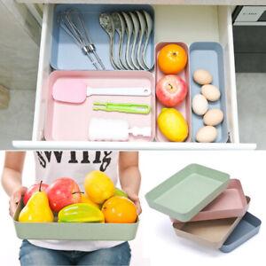 Plastic-Drawer-Desk-Draw-Storage-Kitchen-Office-Home-Tray-New-Box-Organizer
