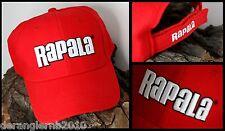 Rapala Basecap rot Mütze gesticktes Logo Baseball Cap