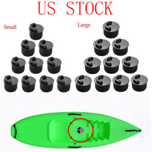 10 Pcs Kayak Canoe Boat Scupper Stopper Plugs Bungs Replacement For Drain Holes