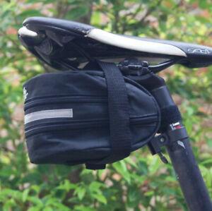 Bike Bicycle Saddle MTB Bag Under Seat Waterproof Storage Tail Pouch Cycling UK