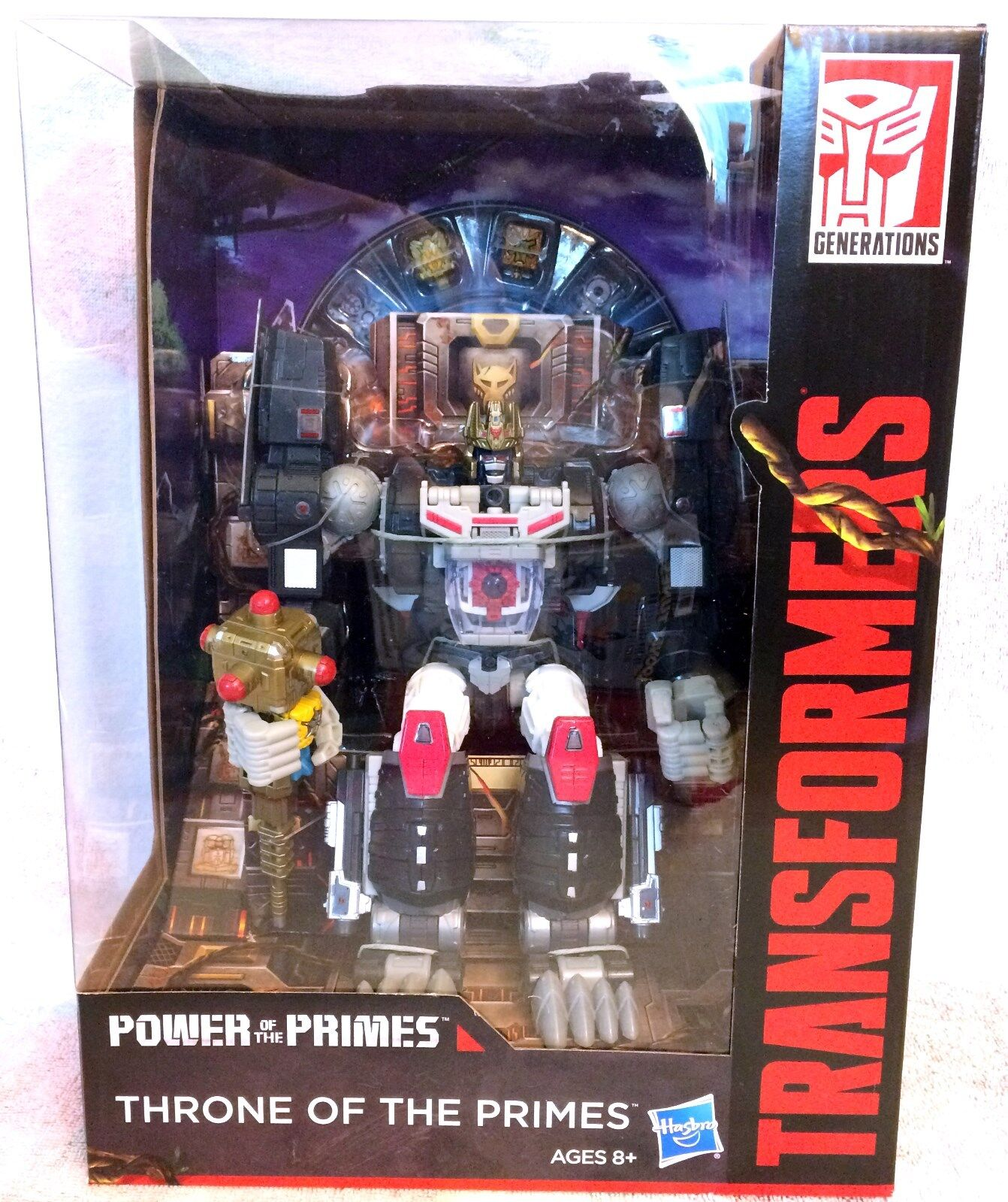 Transformers THRONE OF THE PRIMES, Optimal Optimus Primal, Primal, Primal, Power Primes New 636a61