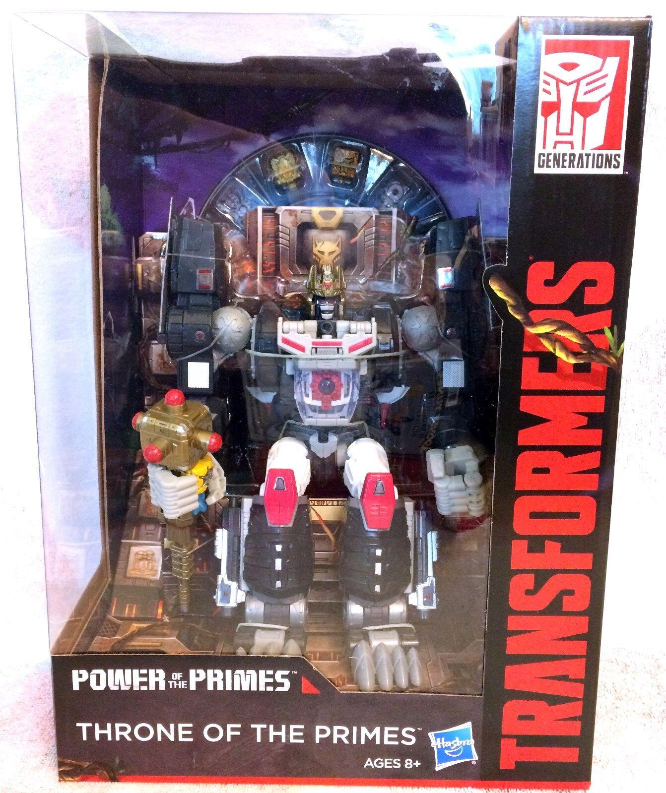 Transformers THRONE OF THE PRIMES, Optimal Optimus Primal, Power Primes New