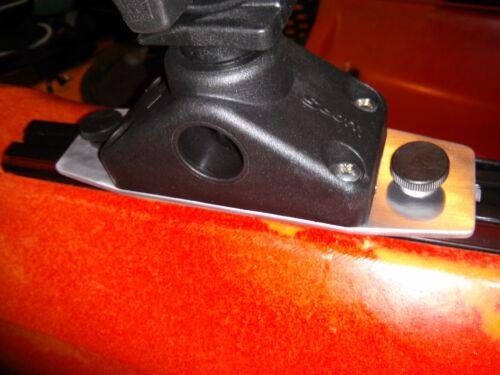 Scotty Rod Holder /& Mount for Feelfree Kayak /& Jonny Boat Uni-Track Slide Rail