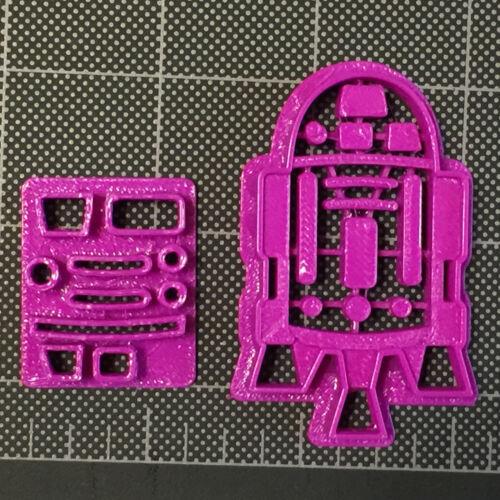 R2D2 Fondant Cutter //R2D2 Cupcake Topper