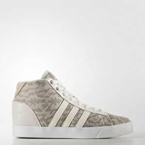 new product f25c1 c812e Image is loading Adidas-Neo-Women-Shoes-Cloudfoam-Daily-QT-Mid-