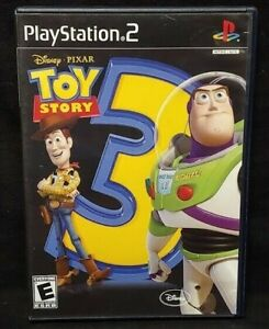 DISNEY PIXAR Toy Story 3 - PS2 Playstation 2 Game Tested Working Complete