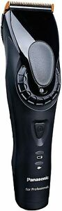 Panasonic ER-DGP82K801 Cortapelos Profesional (Funciona con Batería y Red) Negro