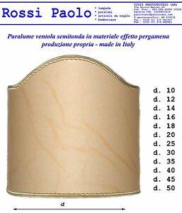Paralume-mezzo-ventola-effetto-pergamena-rifinitura-oro-made-in-Italy