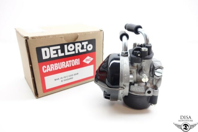 Dellorto SHA 15/15 C Vergaser Peugeot 103 Original 2045 NEU *