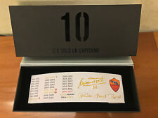 Fascia Capitano Francesco Totti Limited edition AS ROMA 2017 Solo 3000pcs