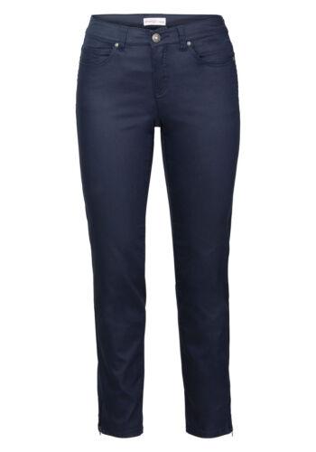 KP 59,99 € marine Sheego Casual Mince Stretch-Pantalon en 5 poches NEUF!!