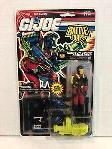 """Vintage GI Joe Battle Corps Crimson Guard Commander 3.75"""" Figure Hasbro 1992"""
