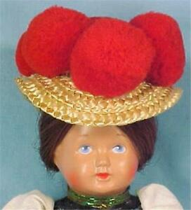 Vintage-German-Girl-Celluloid-Doll-Turtle-Schutz-Mark-in-Original-Box-Germany
